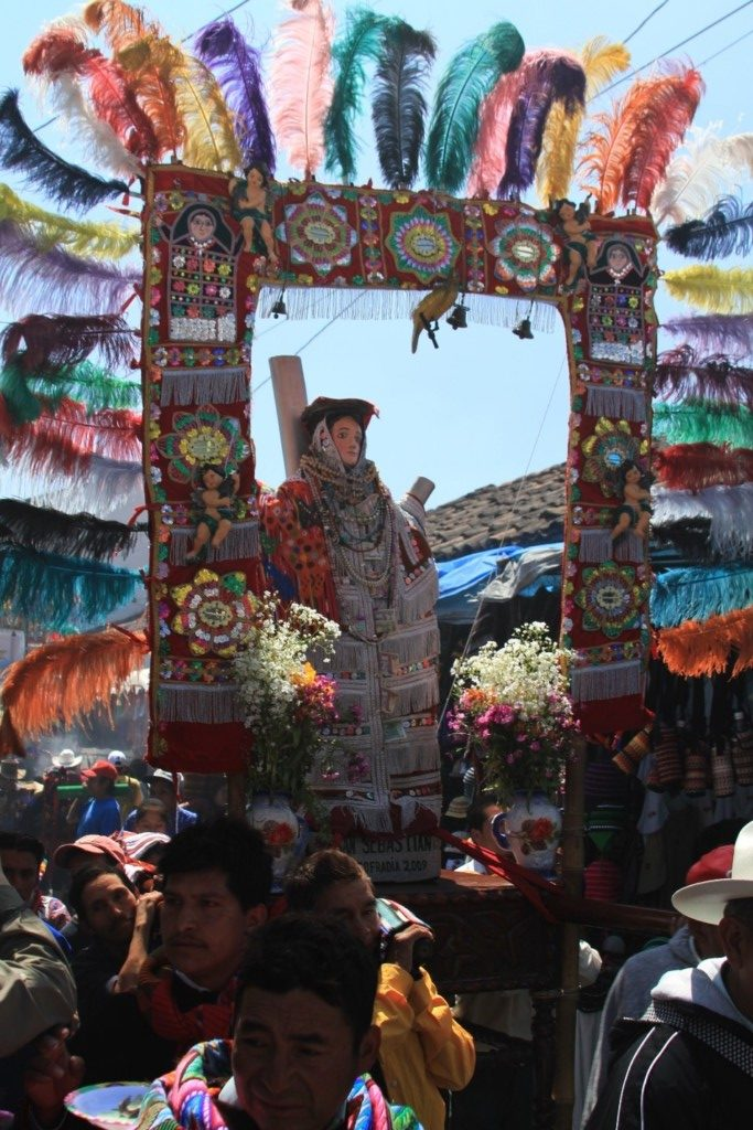 Religious Procession, Chichicastenango