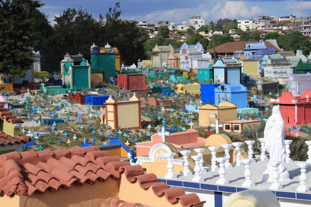 Colorful Cemetery of Chichicastenang