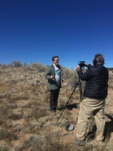 Jim Walker, Southwest Regional Director, discusses the Dein ruin for a new video.