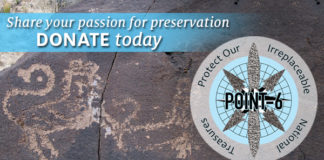 The Archaeological Conservancy is excited to announce the launch of the crowdfunding campaign for the POINT-6 Program (Protect Our Irreplaceable National Treasures)
