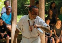 Cherokee lifestyles and history are on display at Oconaluftee Indian Village. Credit: EBCI DESTINATION MARKETING