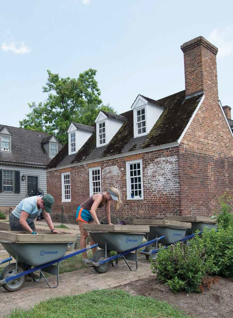 colonial williamsburg uncovered - archaeological conservancy