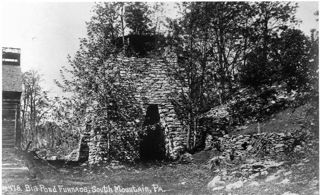 Vintage photo of Big Pond Furnace